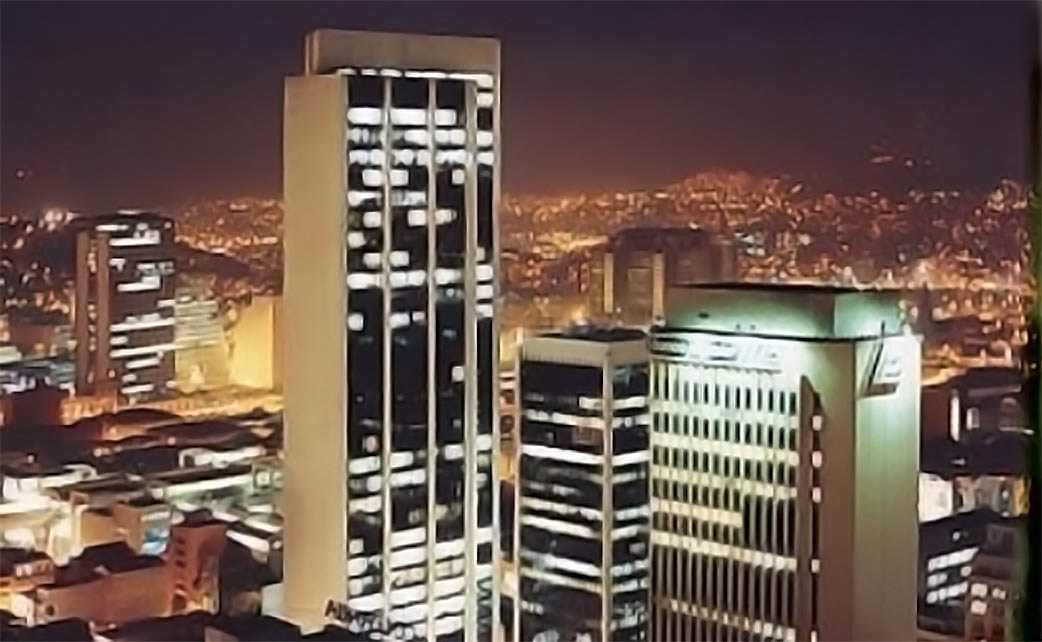 Medellin Night View